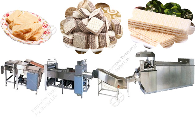 GGHG-45 Automatic Gas Type Wafer Biscuit Processing Line