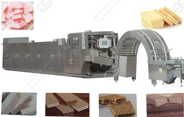 GGHG-51 Automatic Gas Type Wafer Biscuit Production Line