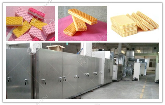 Wafer Biscuit Production Plant