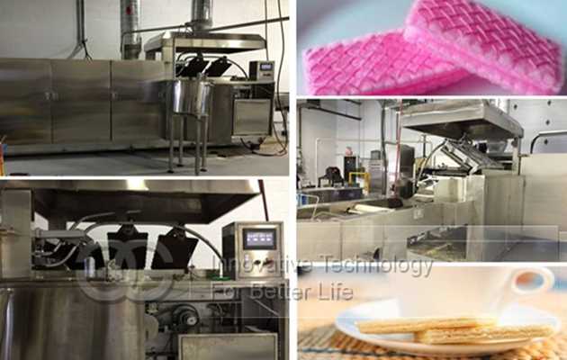 GGHG-27 Automatic Gas Type Wafer Production Line
