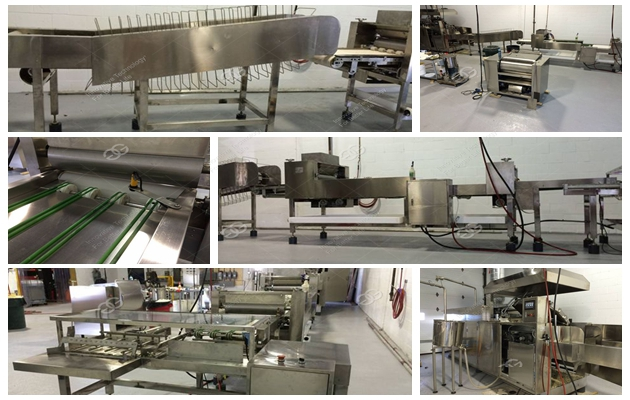 Automatic Wafer Biscuit Line 75 Moulds for Factory