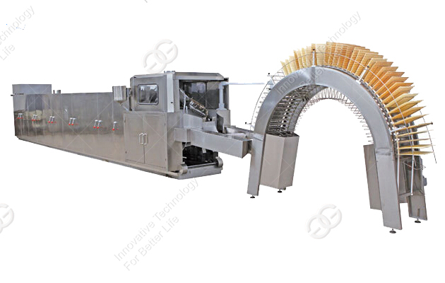 Video of the Wafer Biscuit Production Equipment