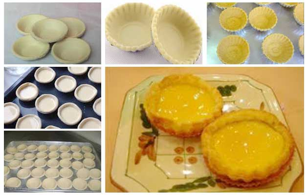 Machine for Making Egg Tart Skin