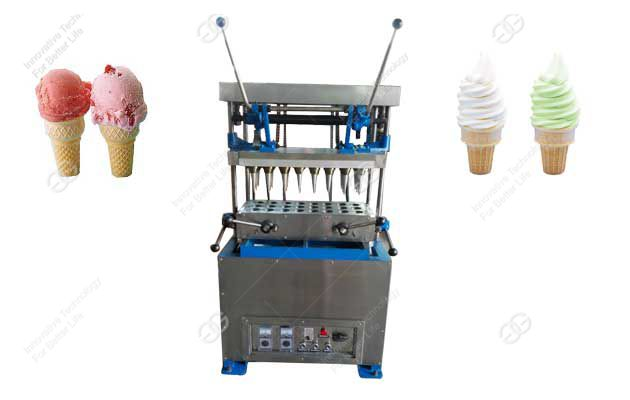 Ice Cream Cone Biscuit Making Machine