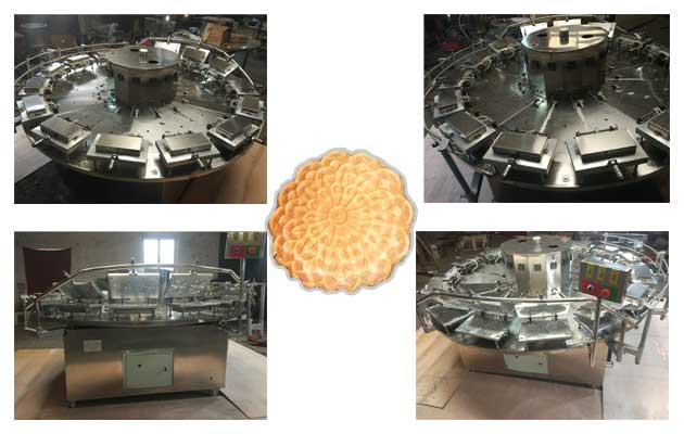 Commercial Pizzelle Cookie Machine|Kuih Kapit Making Machine