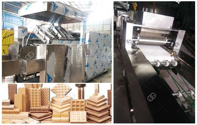 Wafer Biscuit Production Line For Sale China