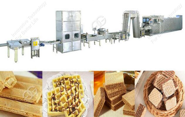 wafer biscuit machine