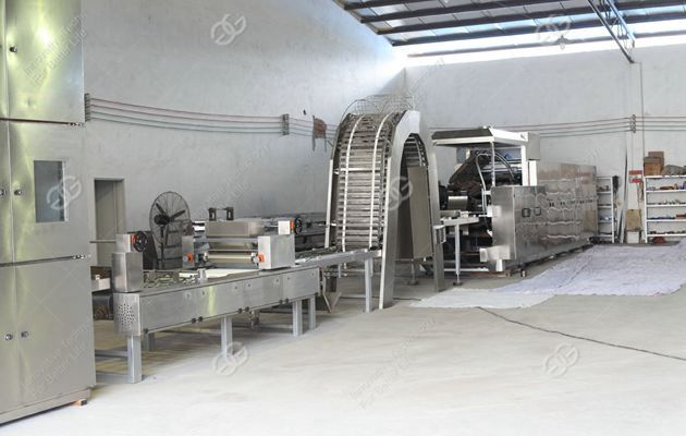 wafer biscuit processing machine