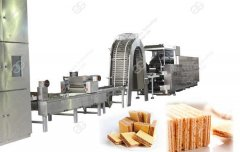 Wafer Biscuit Production Line Production Video