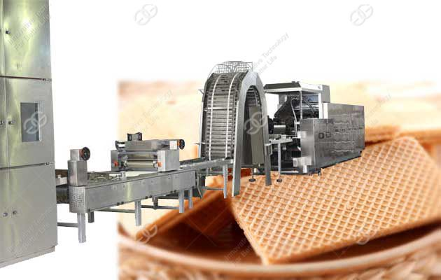 full automatic wafer biscuit production line