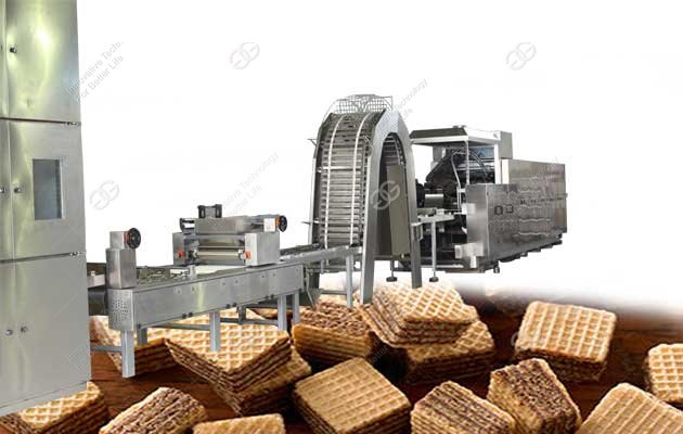 wafer biscuit production line for sale